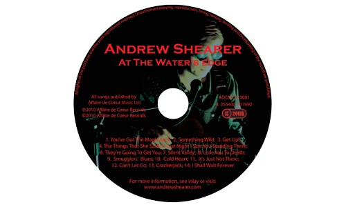 <strong>CD</strong> artwork for <strong>At The Water's Edge</strong>