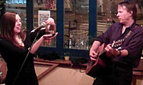 Joanne Kelly & Andrew Shearer @ Gloabal Cafe 2012